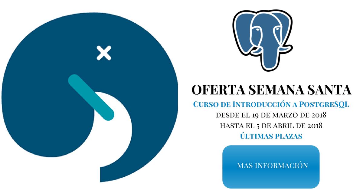 Oferta: Curso de Introducción a PostgreSQL