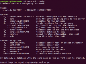 Cómo crear una base de datos en PostgreSQL