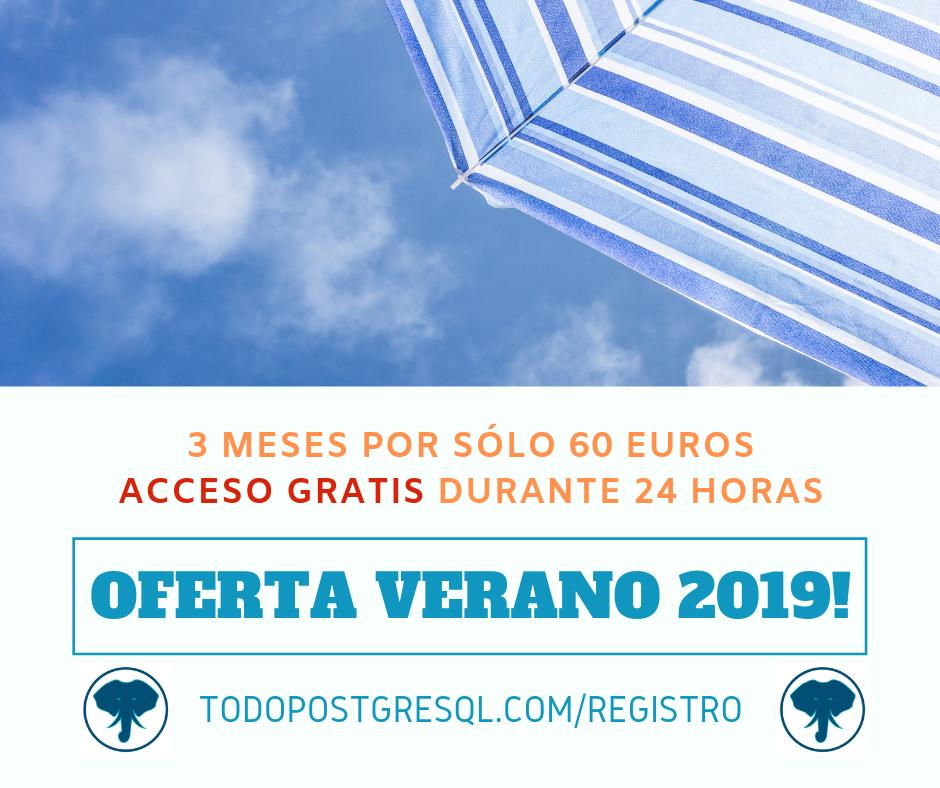 OFERTA VERANO 2019!